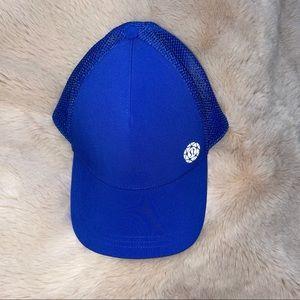 Lululemon Seawheeze limited edition Marathon Baseball Hat Cap Cobalt Blue